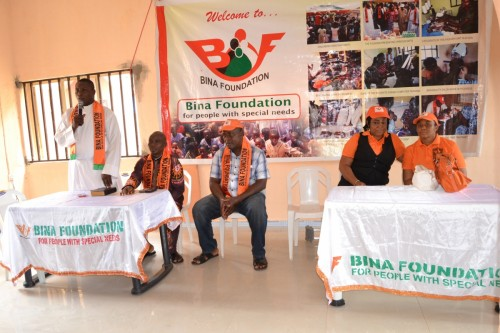 Priest commends Bina Foundation for its vision for the needy