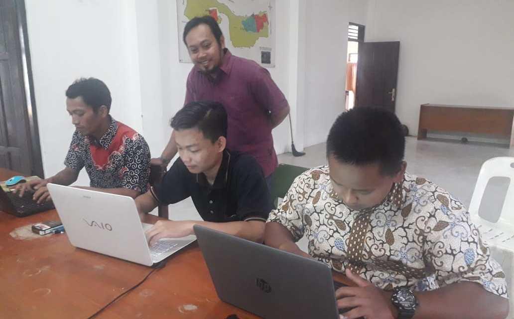 Pelatihan website desa binangun