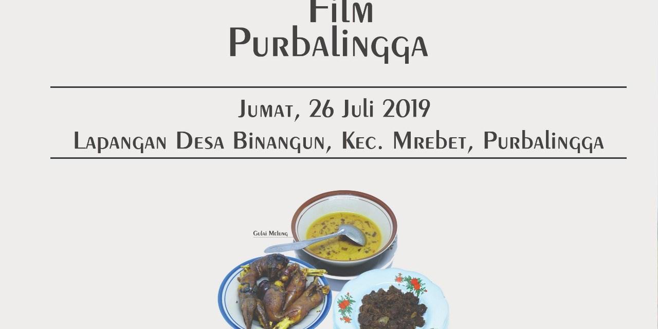 Dalam Rangka Festival Film Purbalingga Desa Binangun Daftarkan Untuk Nonton Film Layar Tanjleb