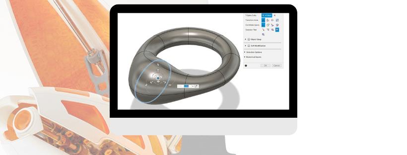 modellazione t-splines fusion 360