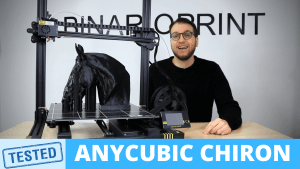 anycubic chiron testata