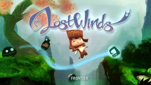 LostWinds Title Screen 1