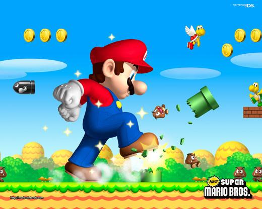 New Super Mario Brothers wallpaper