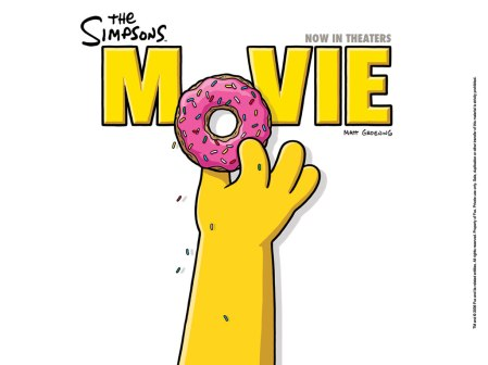 The Simpsons Movie Donut Hand