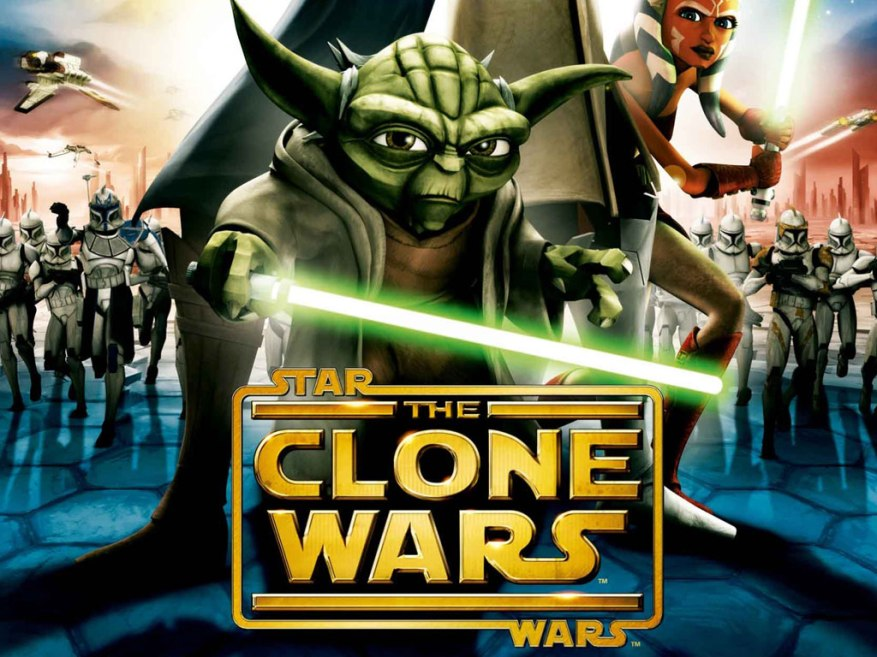 Star Wars, The Clone Wars. Yoda and co.