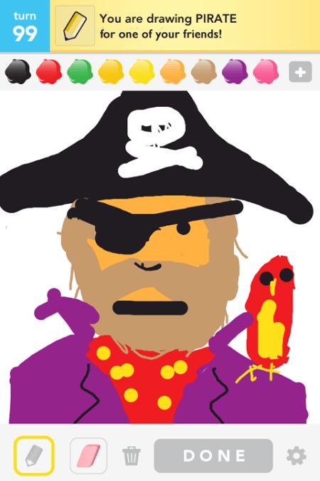Draw Something - Pirate