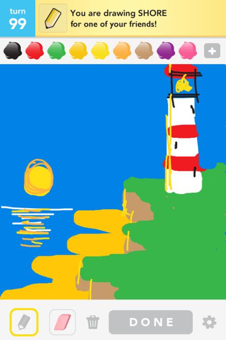 Draw Something - Shore