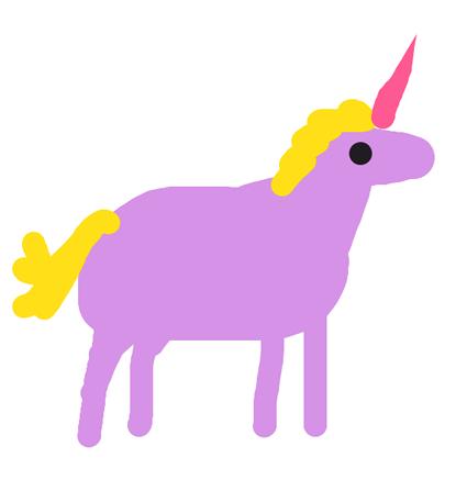 Draw Something - Unicorn