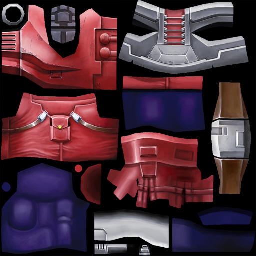 Miner body texture