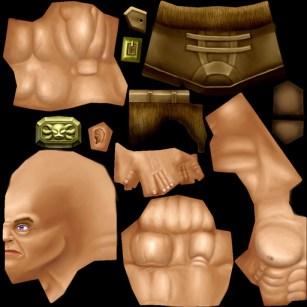 Warrior texture