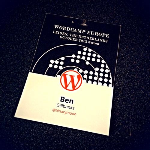 My Battered WordCamp EU Pass