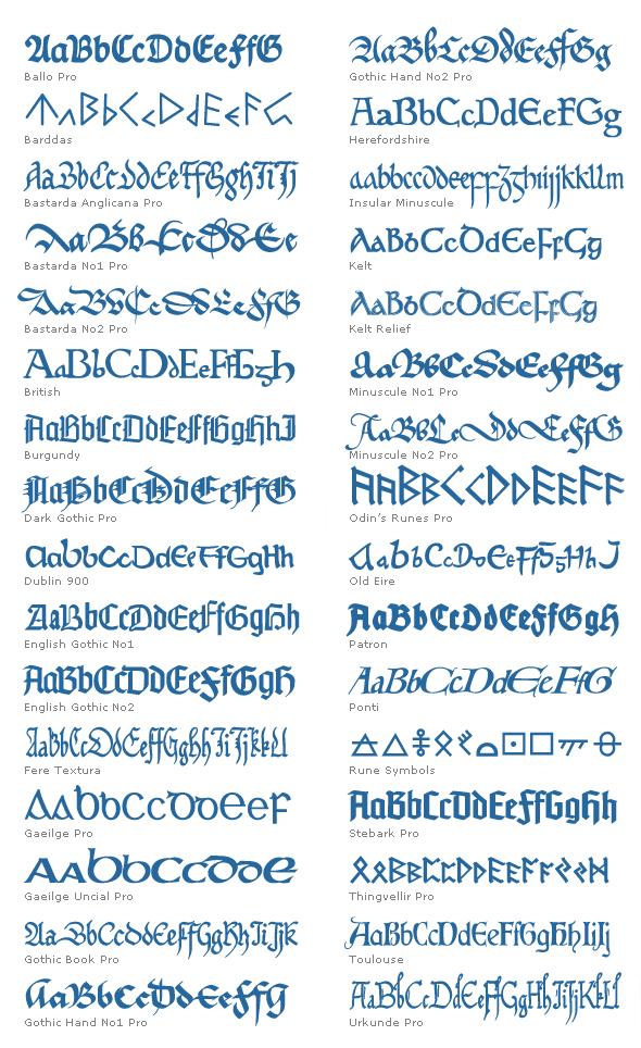 Download Elegant Mediæval Fonts | BinaryNow