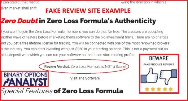 Analyst Zero Loss Formula