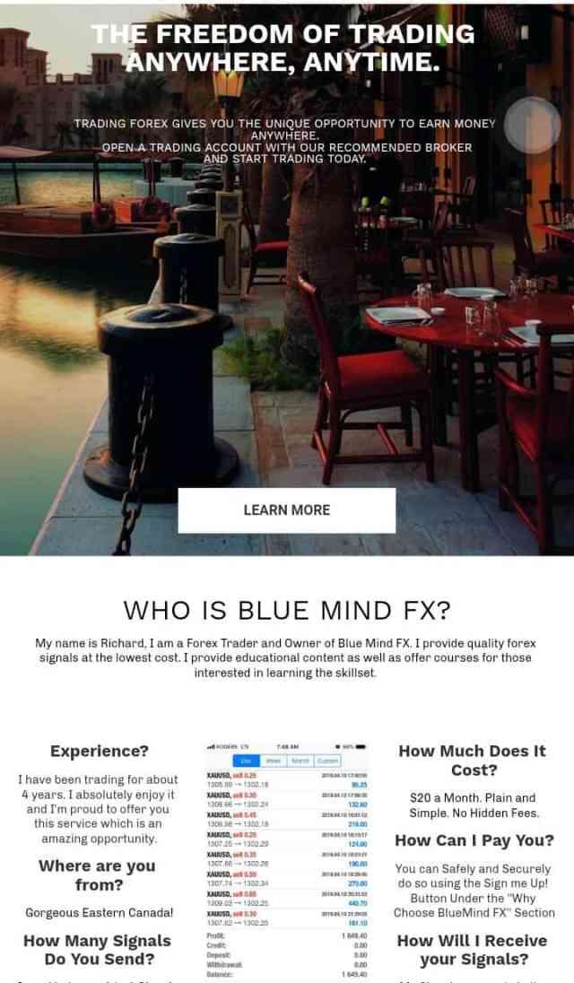 Blue mind FX review