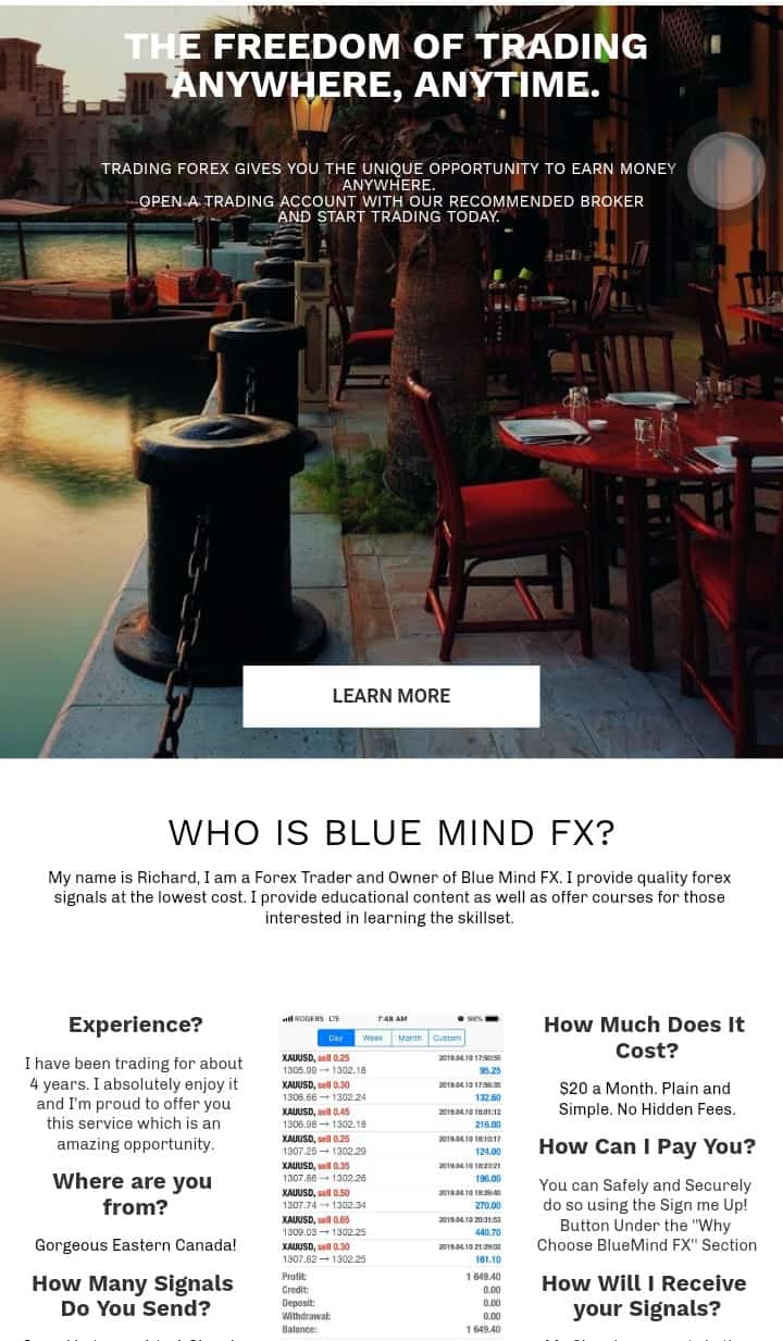 Blue mind FX review