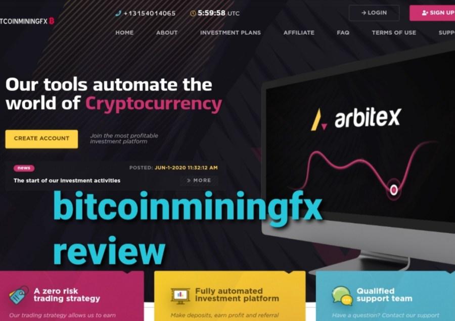 Bitcoinminingfx review