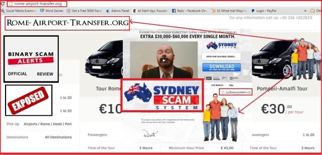 Sydney System Scam