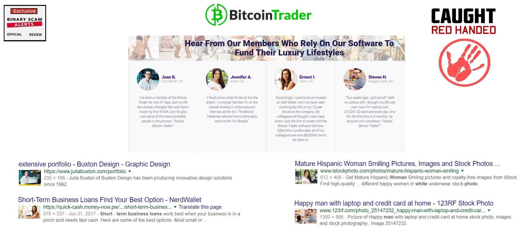 Bitcoin Trader Review, SCAM Bitcoin Trader Is a Cryptocurrency Fraud