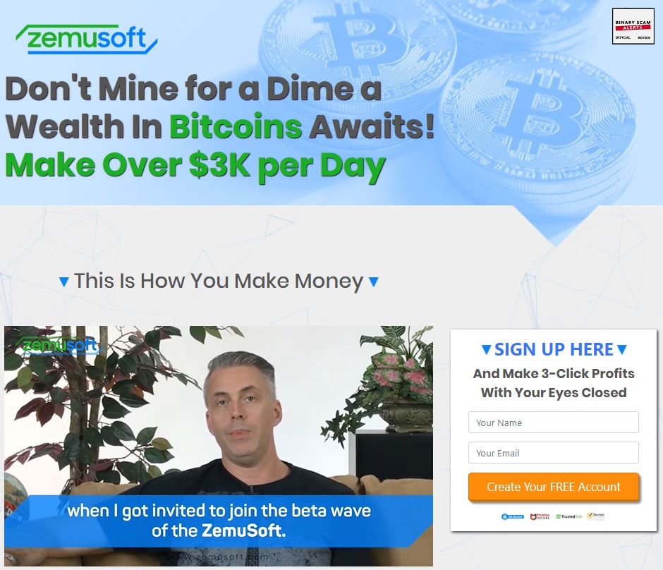 Zemusoft Review, Crypto SCAM Exposed! | Binary Scam Alerts