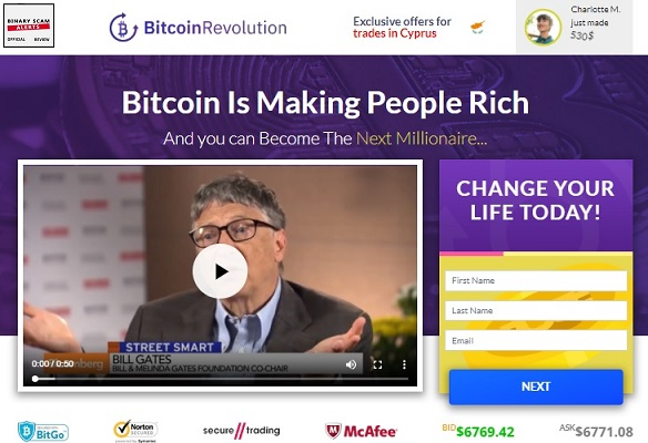 Bitcoin Revolution SCAM Uses Top Chef Gordon Ramsay | Binary Scam Alerts