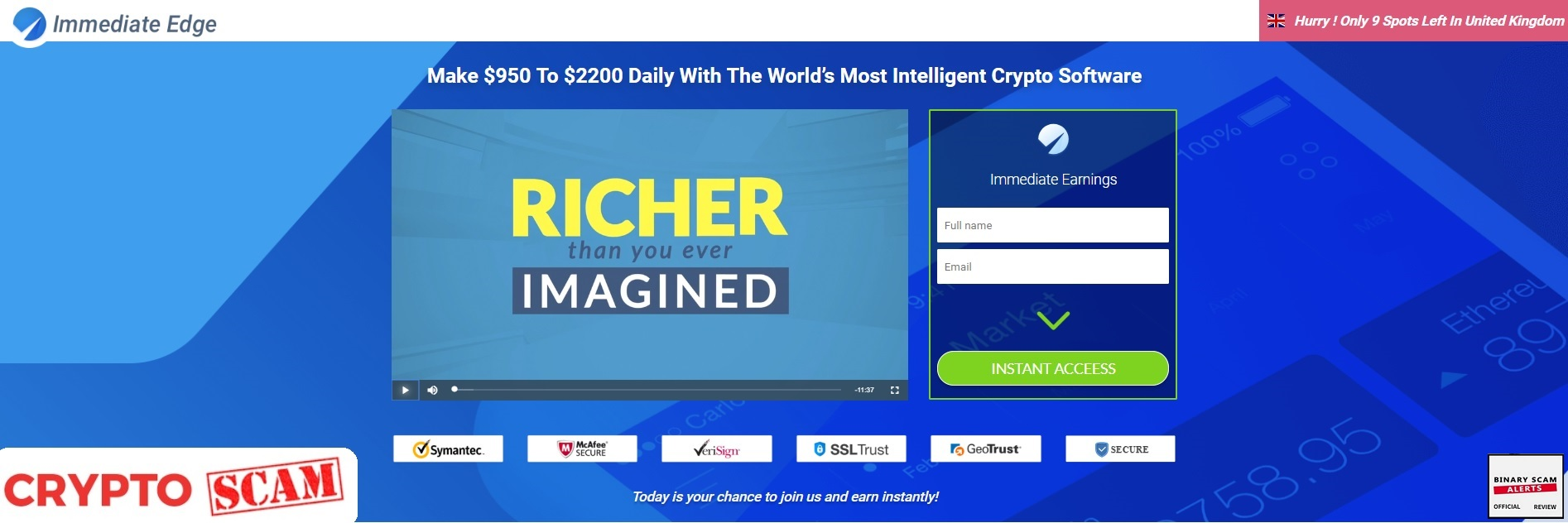 Immediate Edge Recensione 2021 - truffa o funziona? - Coin Insider.