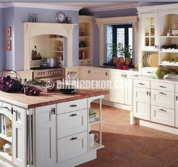 Vintage French Country Kitchen Decor