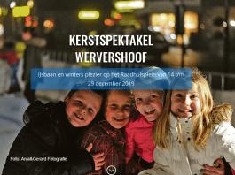 IJsbaan op het Raadhuisplein in Wervershoof geopend