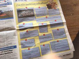 Plaats een lief berichtje in weekblad Binding Wervershoof