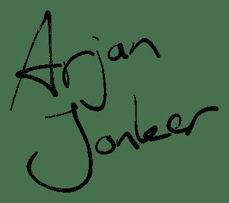 Arjan Jonker gedicht