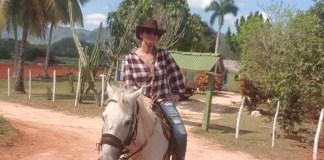 Franca en Bram Visser in Cuba