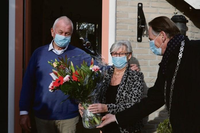 Gouden bruidsparen gemeente Medemblik verrast met Valentijn