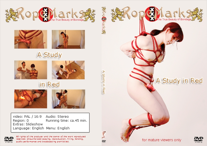 DVD RopeMarks Study in red