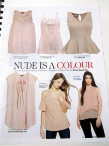 Nude Coloured Tops