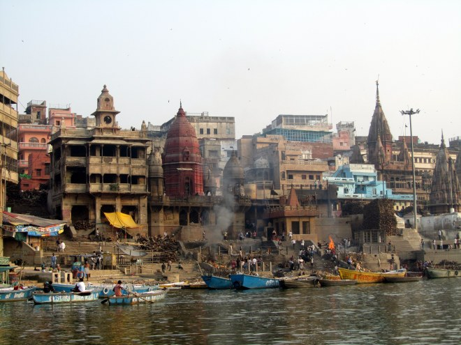 Life on the ghats of Varanasi