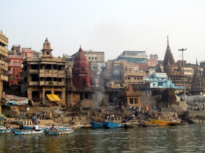 Life on the ghats of Varanasi