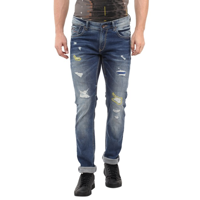 Spykar Dark Blue Denim