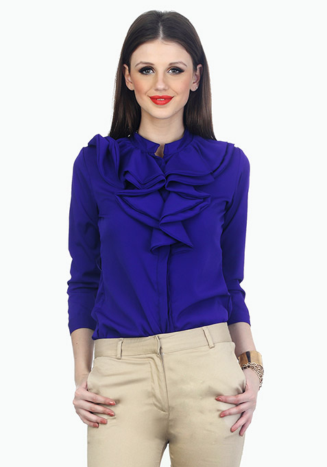 Ruffles Ahead Playful Shirt