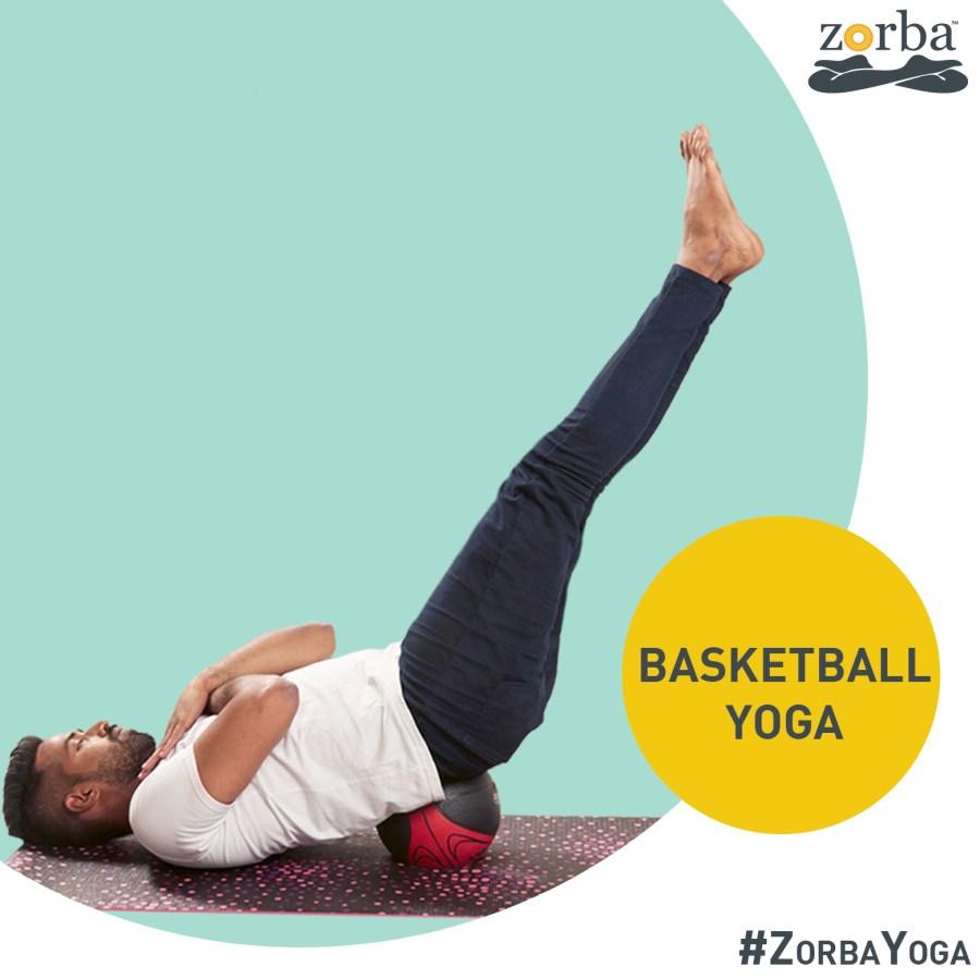 Basketball Yoga at Zorba