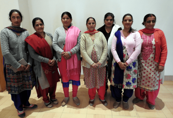 The local women that Club Mahindra Kandaghat works with