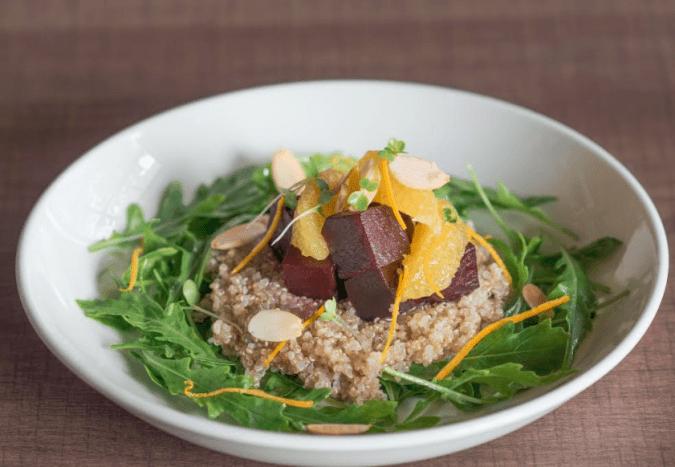 Quinoa, Beetroot Quinoa, Beetroot & Orange Salad& Orange Salad