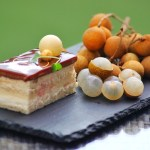 Desserts inspired by season's tropical fruits Lychee and Longan (Courtesy BBC)