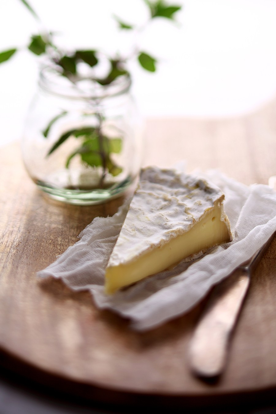 Brie - courtesy The Spotted Cow Fromagerie