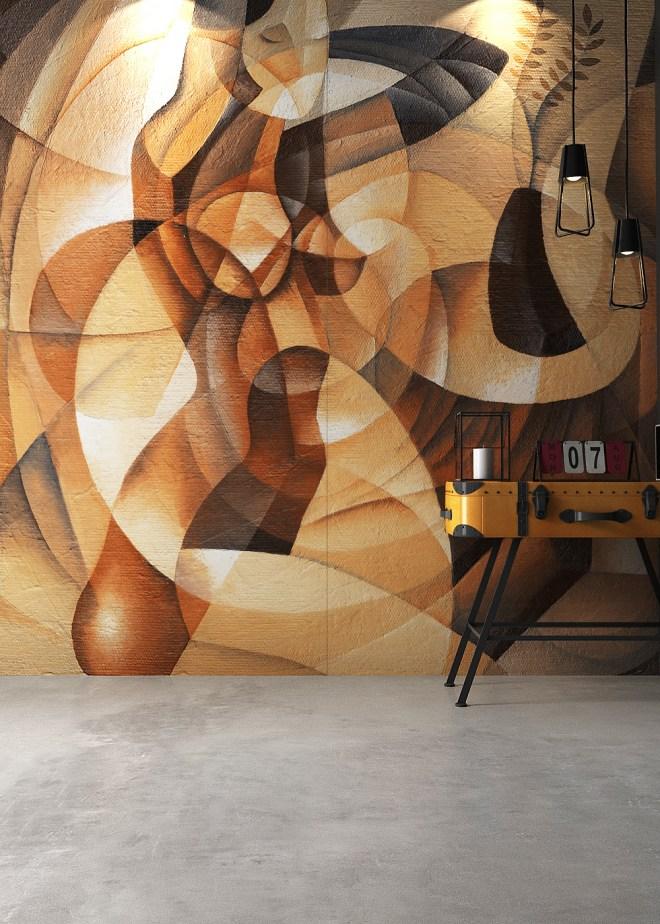 Kru Decor wall installation by Lioli Ceramica