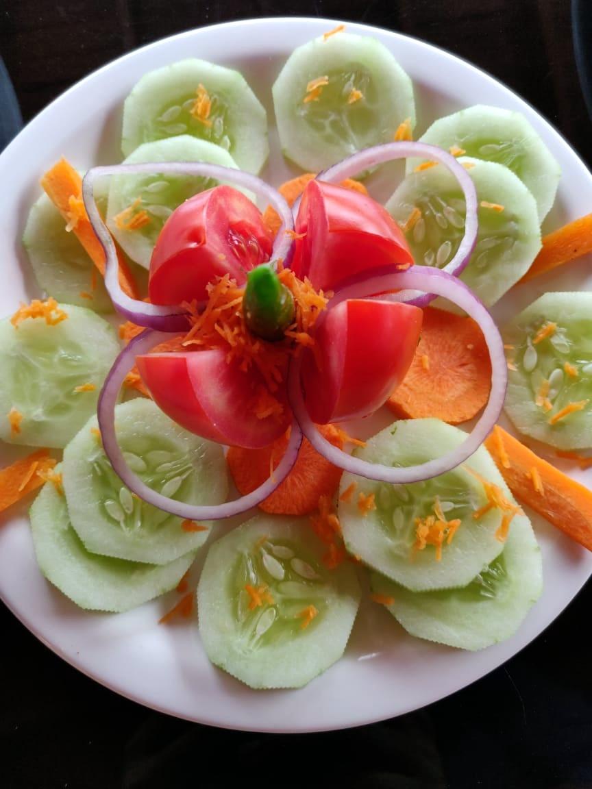 Fresh home made food at Aalaya