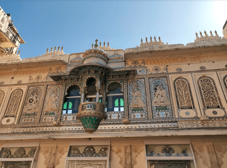 Peacock Motifs in City Palace