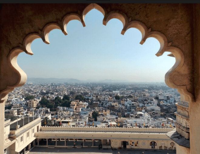 Udaipur from The City Palace