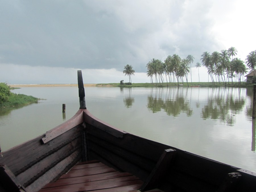 A boat ride to experience the backwaters