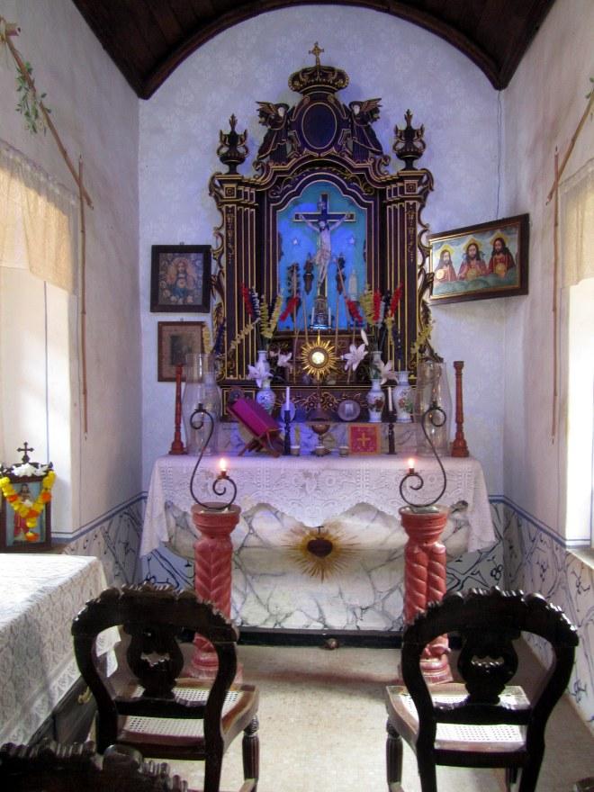 Chapel in Casa Araujo Alvares