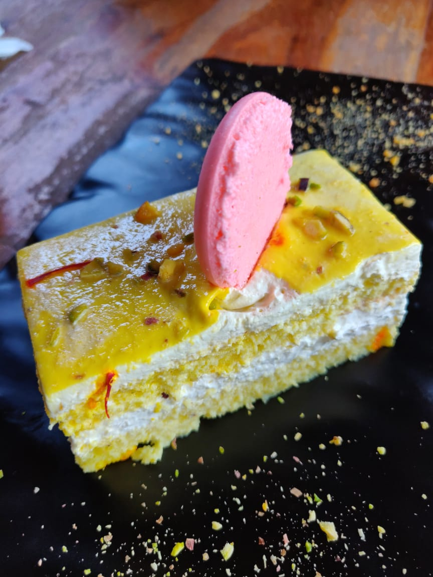 Chilled Rabdi Cake