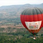 Hot Air Balloon at the Mandu Festival